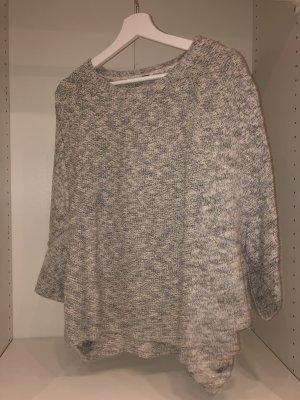 Pimkie Felpa kimono bianco-argento