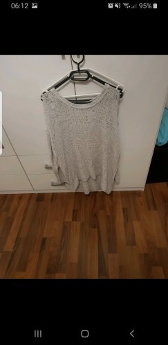Balmain for H&M Pull oversize gris clair