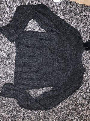 H&M Divided Jersey de ganchillo negro