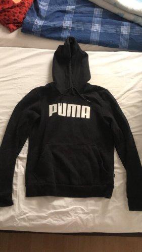 Puma Maglione con cappuccio nero-bianco