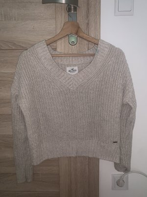 Hollister Crochet Sweater beige-cream