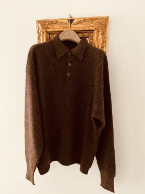 Christian Berg Wool Sweater brown-bronze-colored