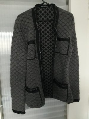 Bernd Berger Wool Sweater dark grey-black alpaca wool