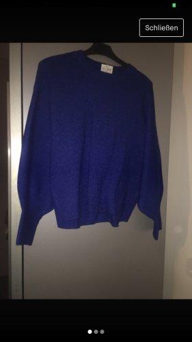 H&M Sudadera de forro azul