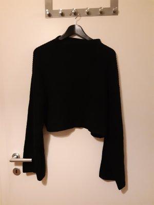 Monki Pullover a maglia grossa nero