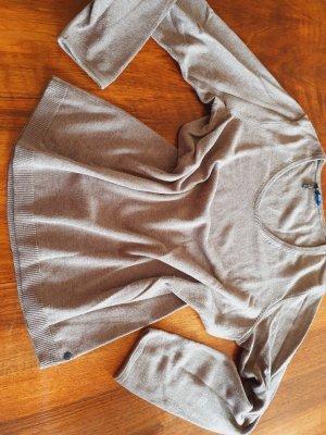 Cecil Wollen trui grijs-bruin