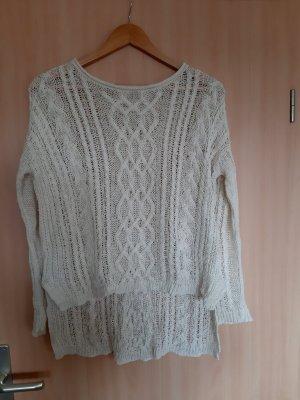 Denim & Supply Ralph Lauren Coarse Knitted Sweater white-natural white