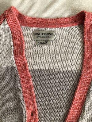 eight 2 nine Szydełkowany sweter Wielokolorowy