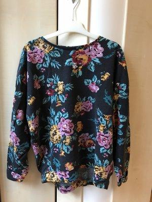 24Colours Pull tricoté noir-blanc