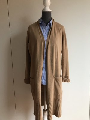 Massimo Dutti Long Sweater light brown