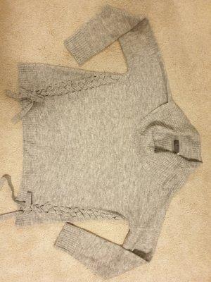 C&A Wełniany sweter srebrny-jasnoszary