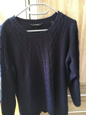 Woman by Tchibo Coarse Knitted Sweater dark blue