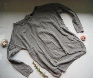 Athmosphere Oversized Sweater grey viscose