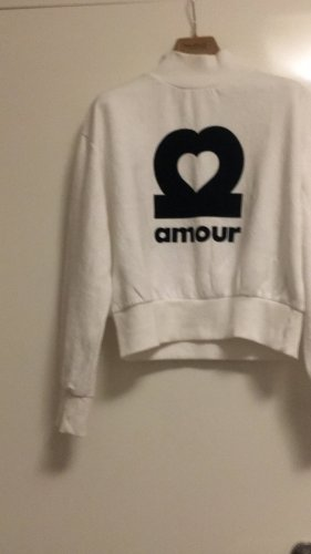 H&M Divided Pull oversize blanc