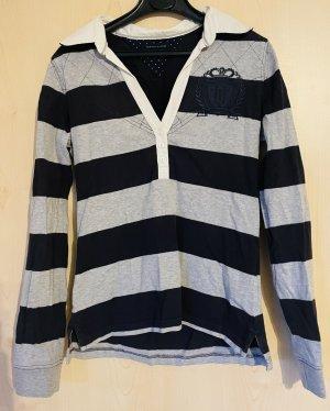 Tommy Hilfiger Koszulka polo szary-ciemnoniebieski