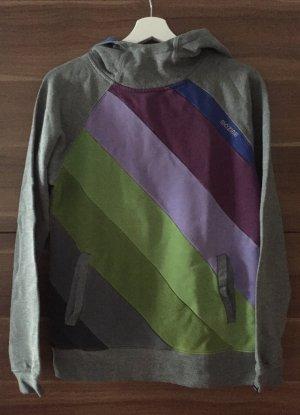 Mazine Maglione con cappuccio multicolore
