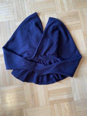 Z Studio Maglione di lana blu scuro