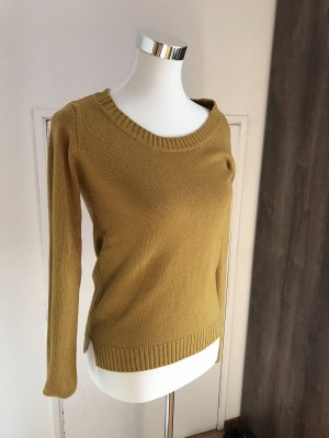 Calliope Wool Sweater lime yellow