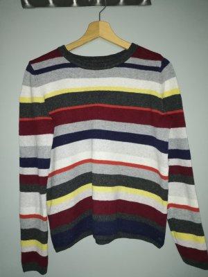 Marco Polo Maglione di lana multicolore