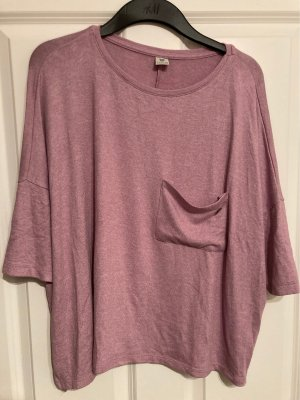 17&co Oversized Sweater pink