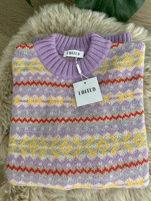 Edited Maglione lavorato a maglia multicolore