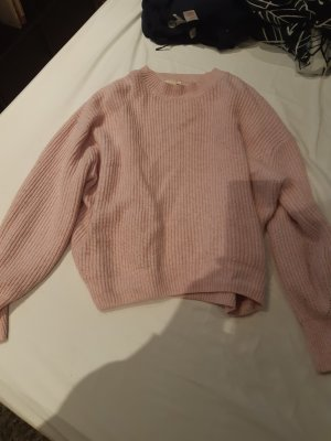 H&M Basic Coarse Knitted Sweater rose-gold-coloured