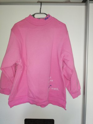 Pull & Bear Maglione girocollo rosa