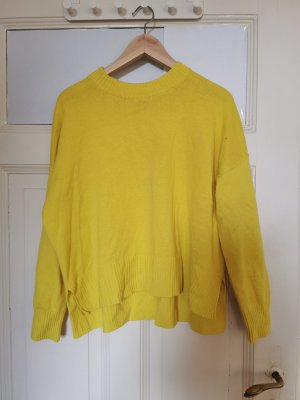 H&M Crewneck Sweater yellow-neon yellow