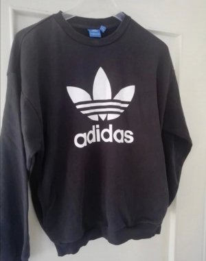Adidas Crewneck Sweater white-black