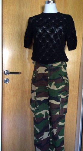 Orsay Pull à manches courtes noir