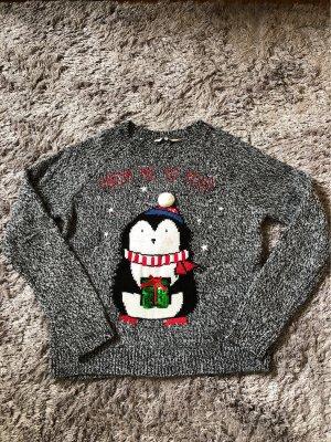 C&A Christmasjumper grey