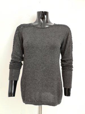Reken Maar Maglione lavorato a maglia grigio scuro