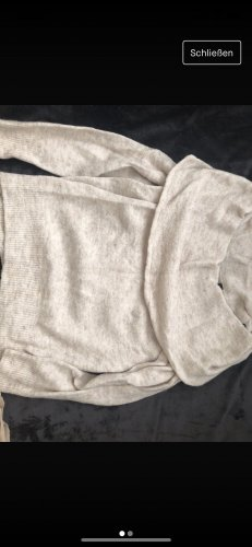H&M Sweter oversize kremowy