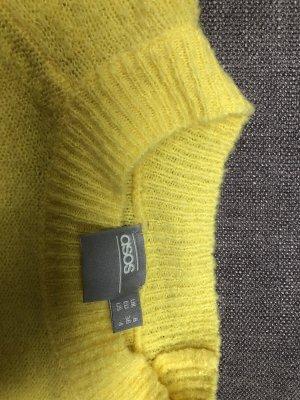 Asos Kraagloze sweater geel
