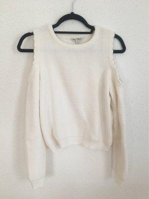 Miss Selfridge Pull tricoté blanc cassé
