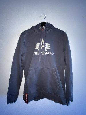 Alpha Industries Hooded Sweater dark grey