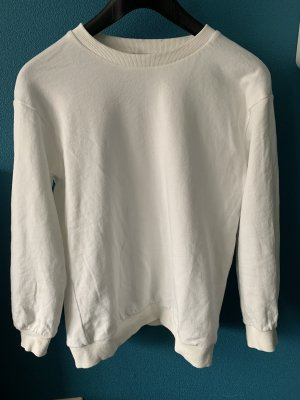 SheIn Crewneck Sweater white