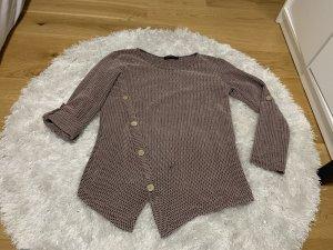 Short Sleeve Sweater black-rose-gold-coloured