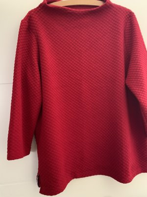 Street One Cowl-Neck Shirt red