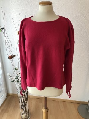 Comma Pullover in pile rosa