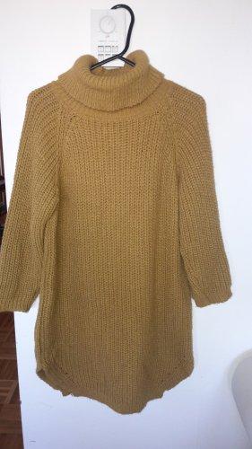 Pull en laine bronze