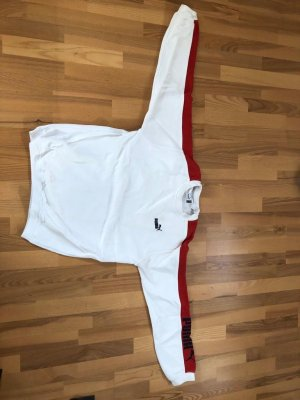 Puma Long Sweater white-red