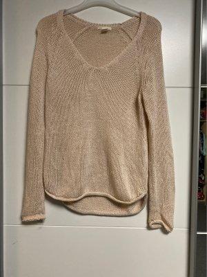 H&M Jersey de ganchillo color rosa dorado