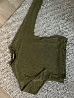 C&A Basics Fleece Jumper olive green