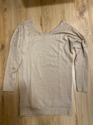 Fleece Jumper cream-gold-colored