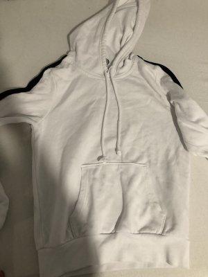 H&M Capuchon sweater wit-zwart