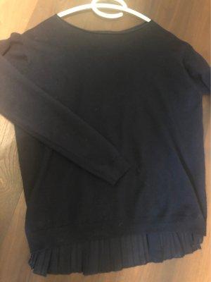 Jersey kimono azul oscuro