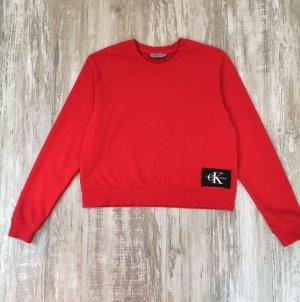 Calvin Klein Maglione girocollo rosso