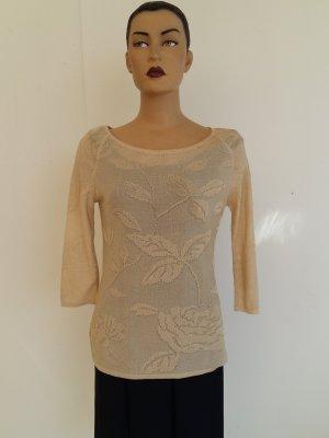 Burberrys of London Maglione lavorato a maglia beige Viscosa