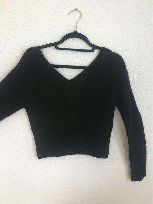 Devided von H&M Coarse Knitted Sweater black